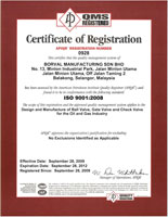 cert of registration